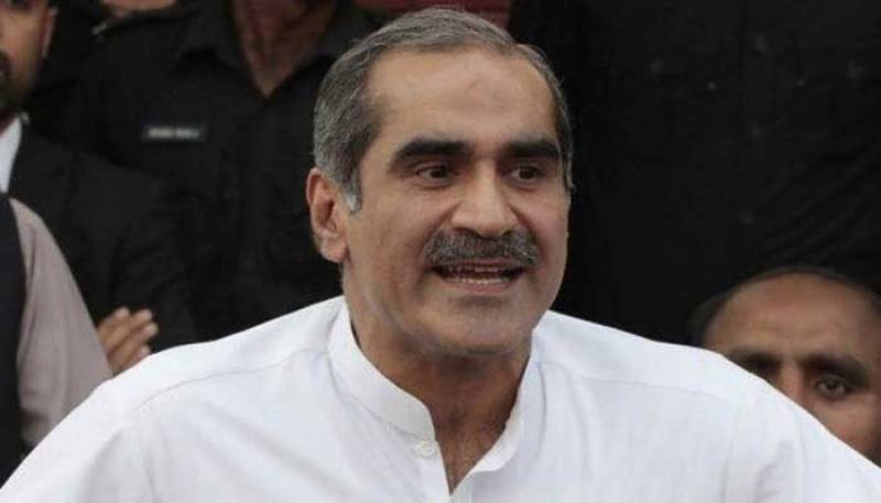 Khawaja Saad Rafiq, other PML-N leaders unhurt as stage collapsed in Lahore rally