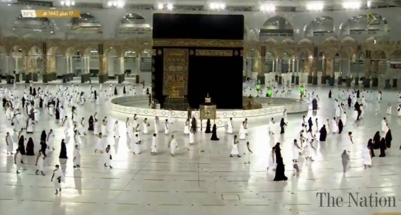 Here's how you can register for Umrah using the Eatmarna app