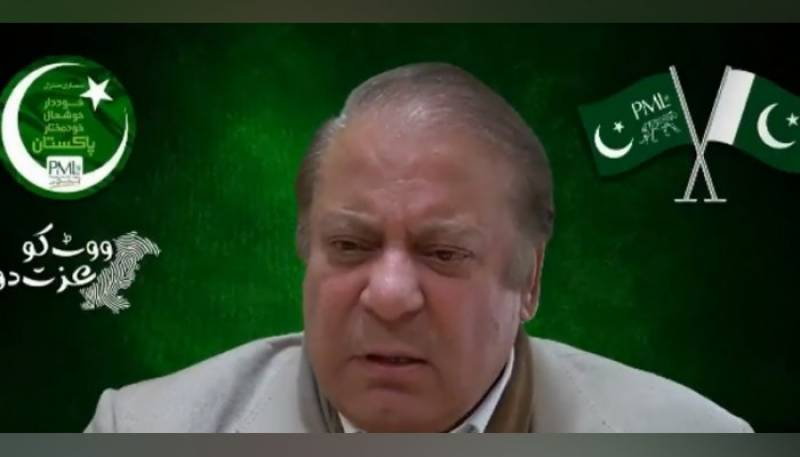 Nawaz Sharif booked for 'criminal conspiracy' against Pakistan's state institutions