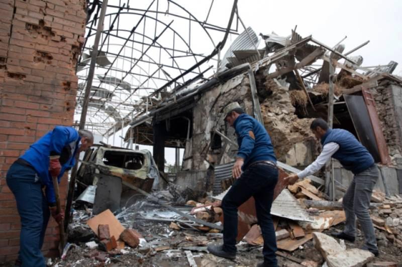 Nagorno-Karabakh: Azerbaijan lays down conditions for ceasefire with Armenia