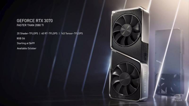 Nvidia announces new date for RTX 3070 release
