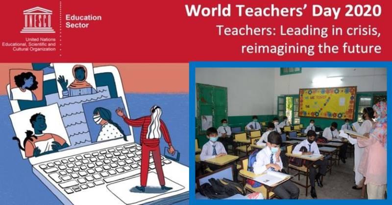 Pakistan marks World Teachers' Day 2020