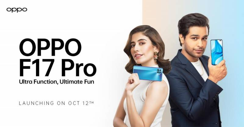 Syra Yousuf, Asim Azhar revealed as OPPO F17 Pro's product ambassadors
