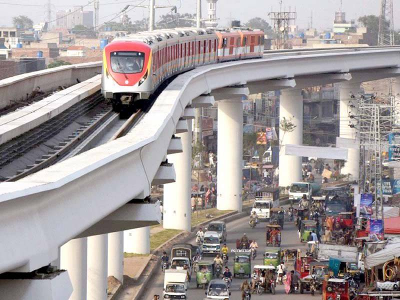 Much-delayed Lahore's Orange Line Metro Train to be made functional this month
