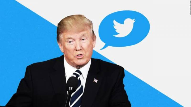 Twitter flags Trump's post over misleading Covid-19 information
