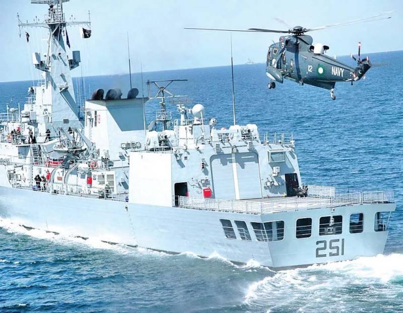 Pakistan Navy, South Korean Navy conduct bilateral exercise