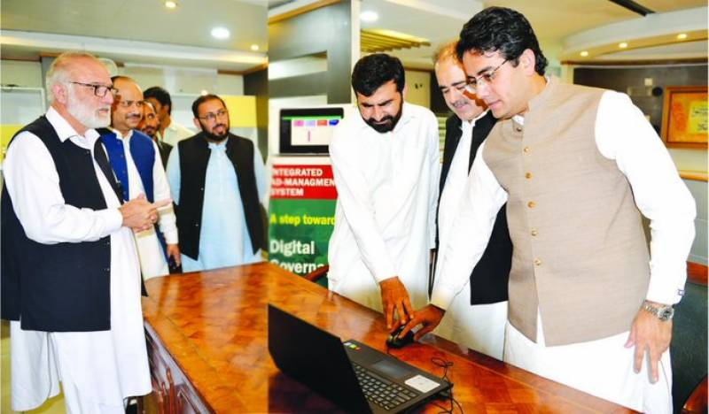 Pakistan's first ever online advertisement system inaugurated in Peshawar