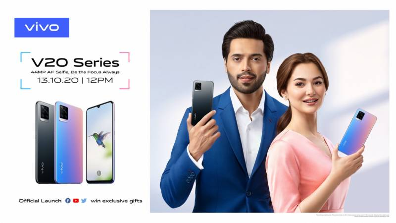 vivo to launch flagship V20 smartphone with 44 MP Eye Auto focus in Pakistan on October 13