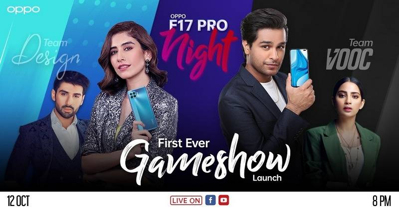 OPPO calls out youth to take sides in its Asim Azhar's Team VOOC vs Syra Yousaf's Team Design Challenge