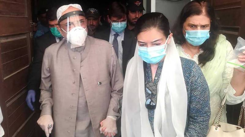Asif Zardari shifted to hospital in Karachi