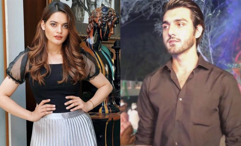 Did Minal Khan and Ahsan Ikram just confirm their relationship on Instagram?