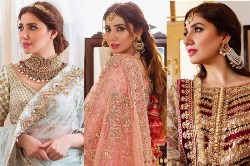 Mahira Khan looks drop-dead gorgeous in latest bridal campaign