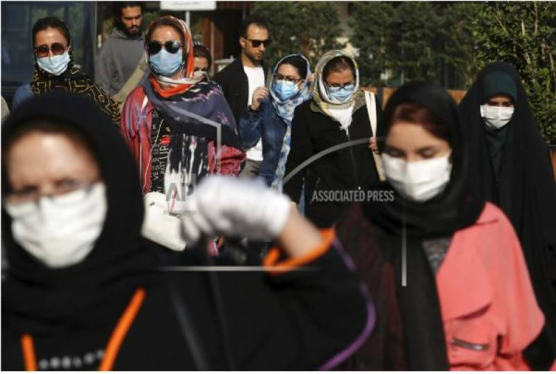 Iran has highest day death toll from virus, currency plunges