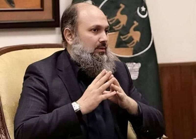 Balochistan CM Jam Kamal Khan contracts coronavirus