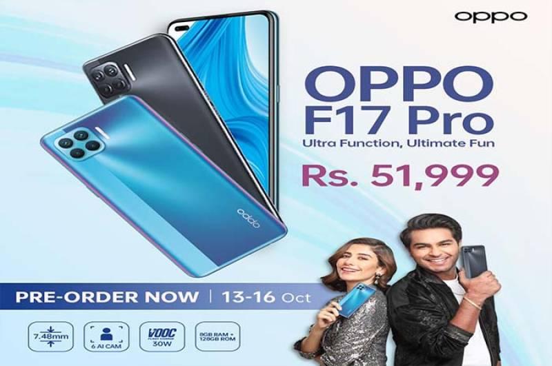OPPO Pakistan unveils sleekest smartphone F17 Pro in unique way