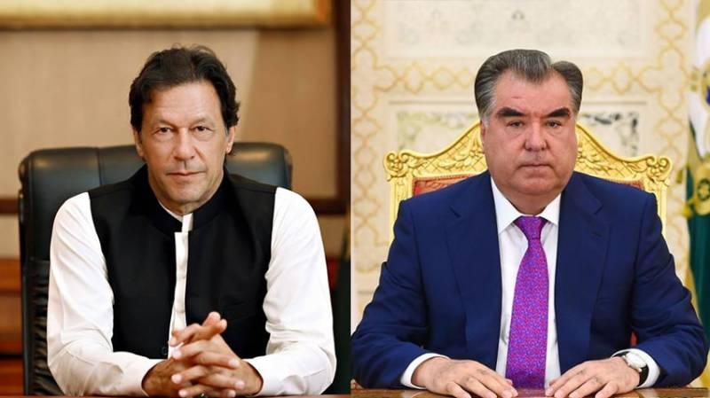 PM Imran felicitates Emomali Rahmon on his historic win in Presidential elections