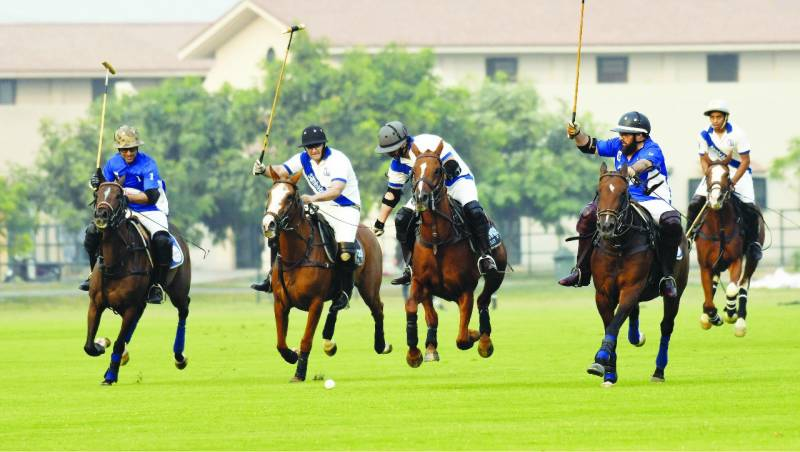 Diamond Paints win opening match of RIJAS Eiffel Heights Polo Cup