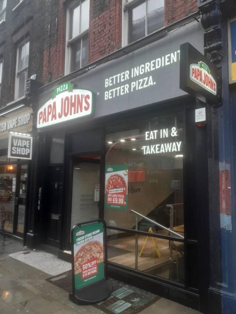 Papa John's largest UK Pakistani franchisee denies fraud