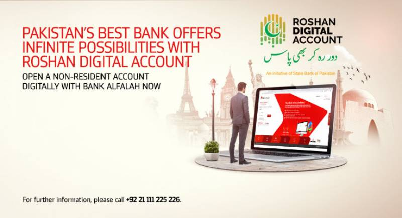 Bank Alfalah introduces a new era of banking with Roshan Digital Account