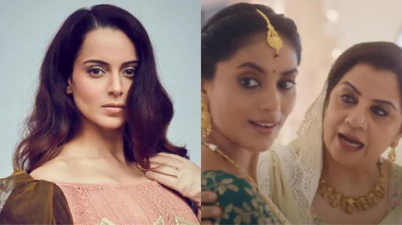 Kangana Ranaut criticises ad about interfaith marriage for supporting 'Love Jihad'