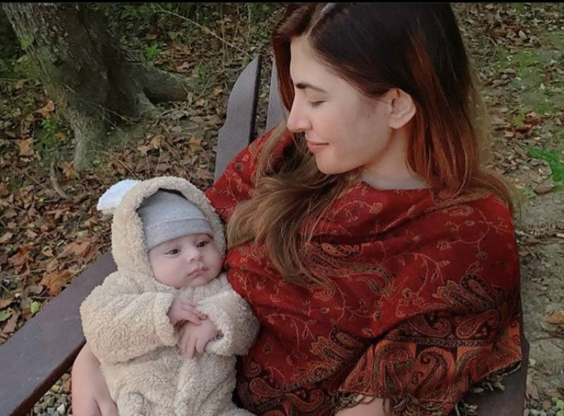 Naimal Khawar's latest picture with baby Mustafa will leave you in awe