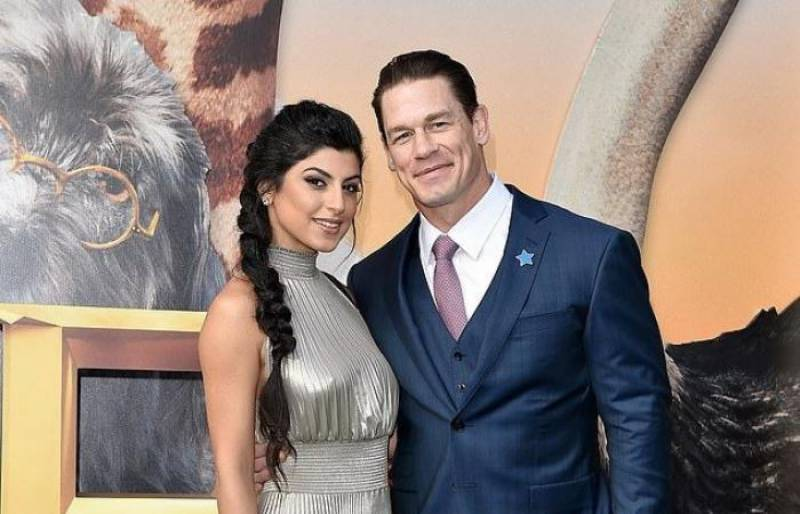 John Cena ties the knot with longtime girlfriend Shay Shariatzadeh
