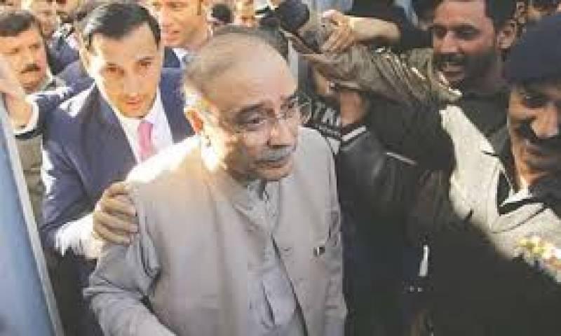 Fake accounts case: NAB issues arrest warrants for Asif Zardari