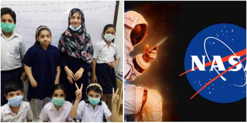 Pakistani fourth graders overwhelmed with joy as astronauts respond to their questions