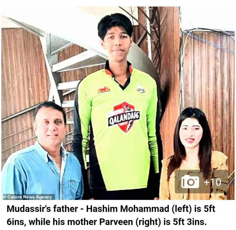 British tabloid thinks these DailyPakistan staffers are parents of giant Pakistani bowler