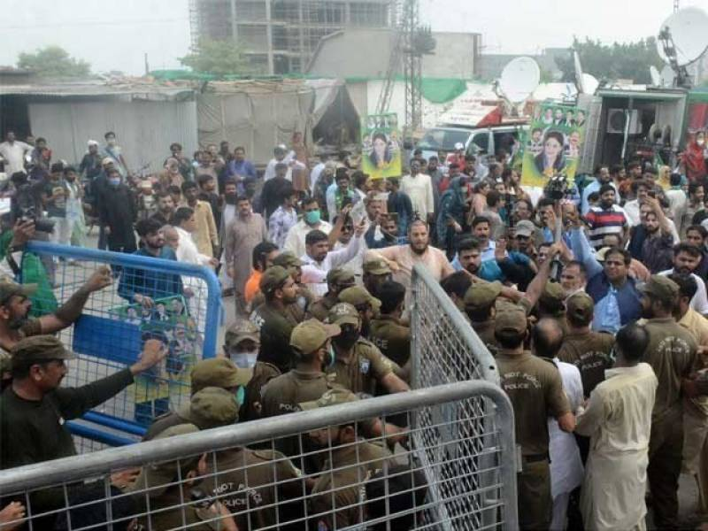 ATC extends bail of PML-N leaders till Oct 20 in NAB office clash case