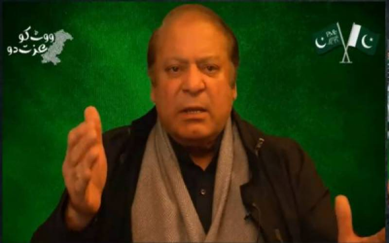 Saqib Nisar's NRO cannot save Imran Khan, says Nawaz Sharif