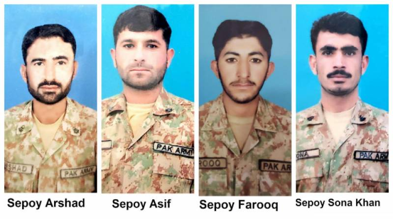 4 Pakistani soldiers among 16 dead in Skardu landslide