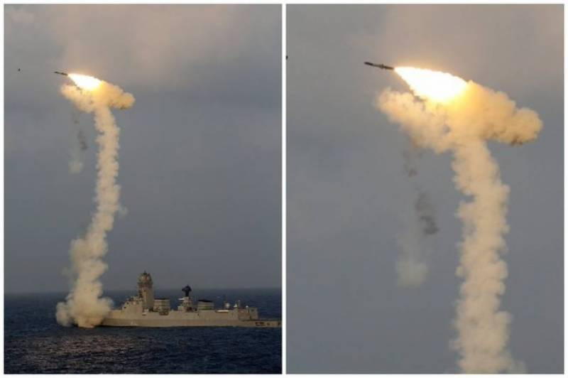 India test-fires BrahMos cruise missile from navy ship