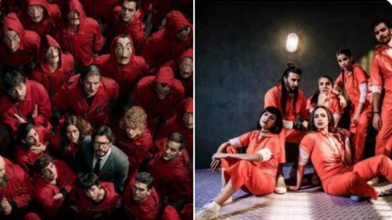 Is '50 Crore' truly a desi version of 'Money Heist'?