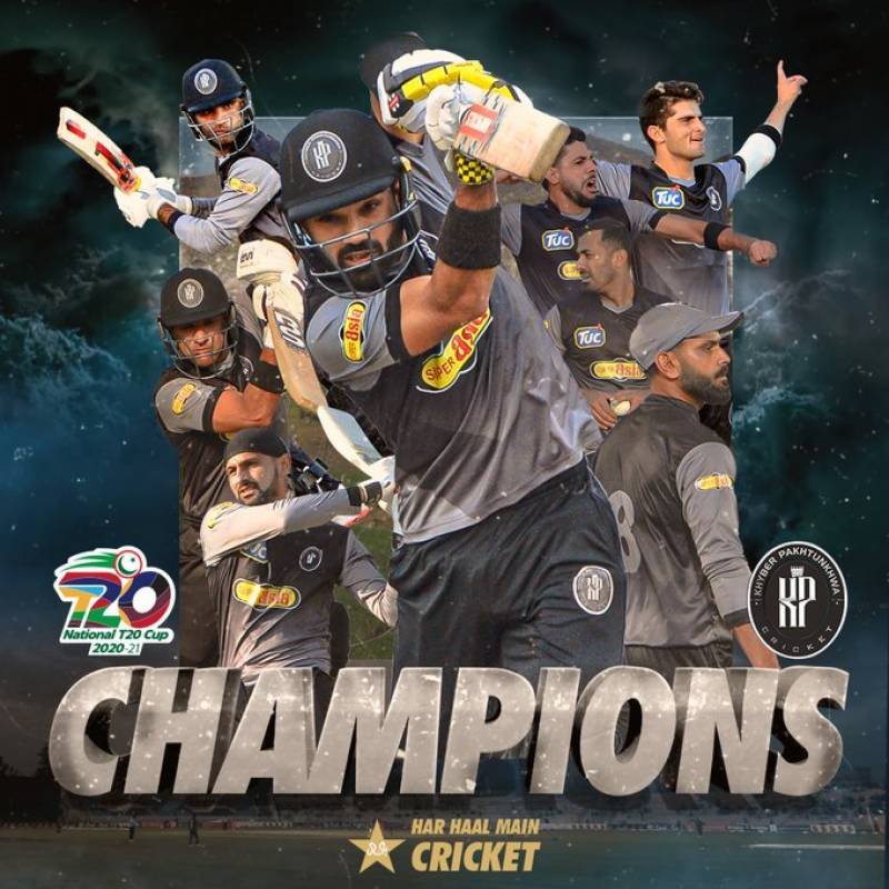 Khyber Pakhtunkhwa beat Southern Punjab to win National T20 Cup 2020