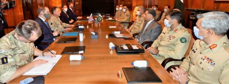 Top UK general acknowledges Pakistan Army's efforts for regional peace