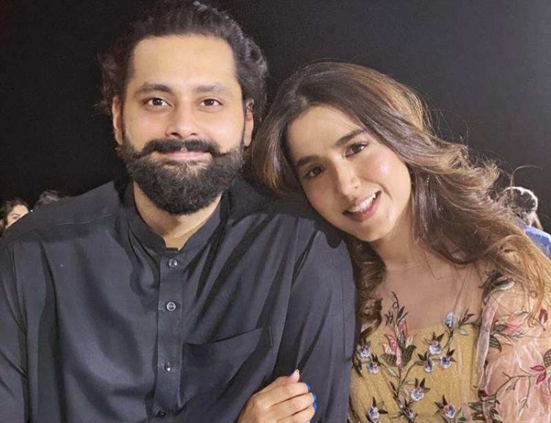 Mansha Pasha celebrates her birthday with Jibran Nasir