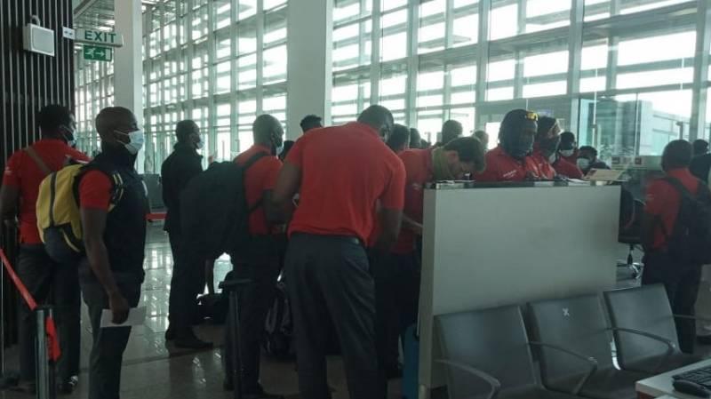 Zimbabwe team arrive in Islamabad ahead of ODI, T20 series