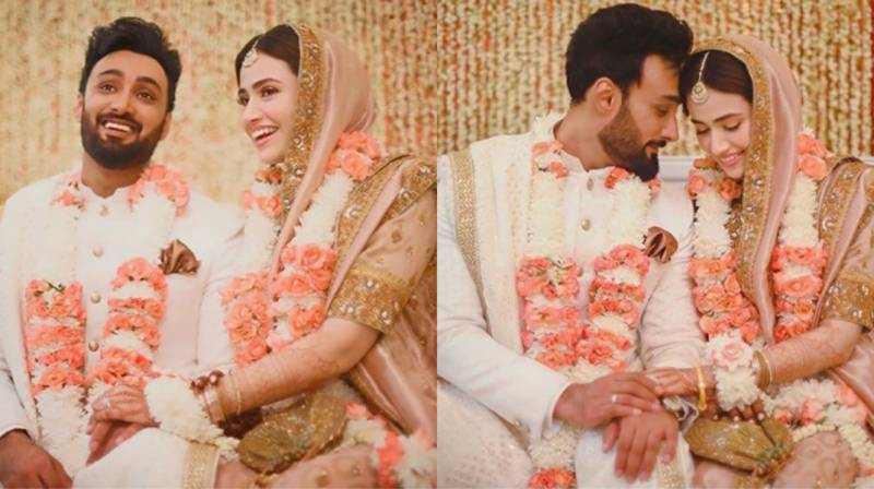 Sana Javed and Umair Jaswal tie the knot
