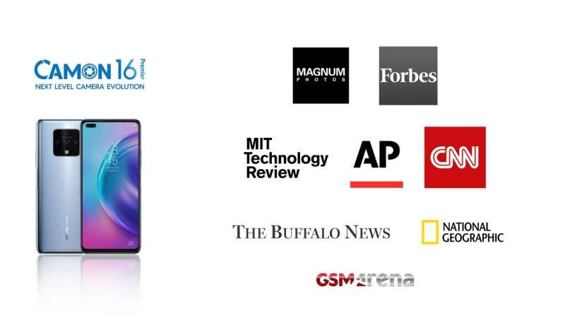 World media all praise for Tecno Camon 16
