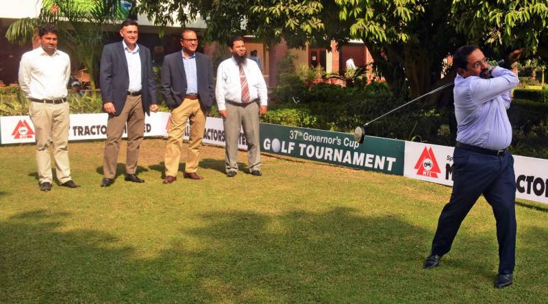 37th Millat Tractors Governors Cup Golf commences today