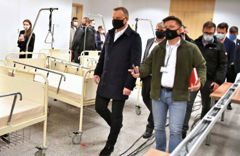 Poland president tests positive for COVID-19