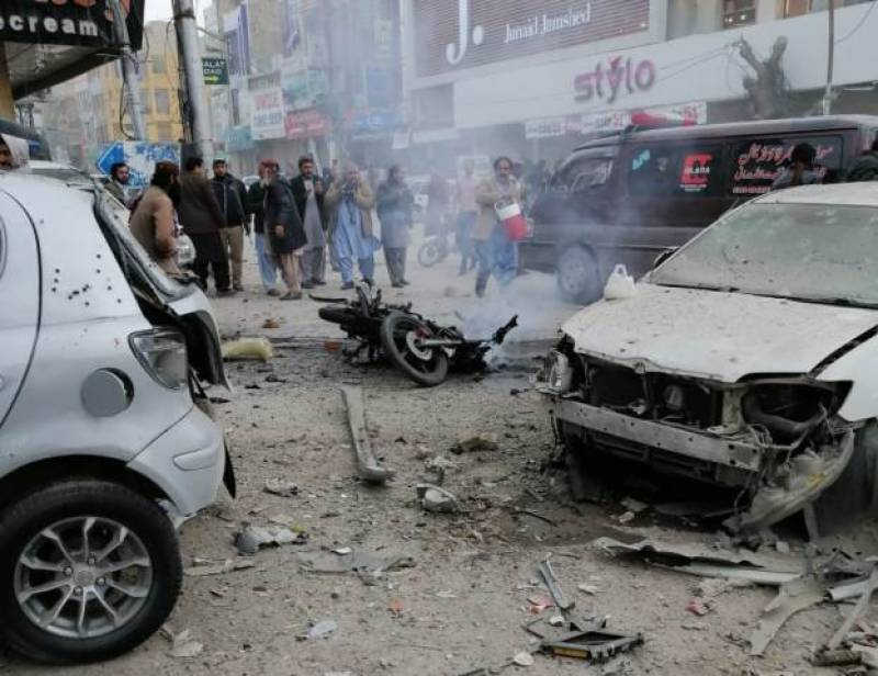 Death toll in blast-hit Quetta reaches 7