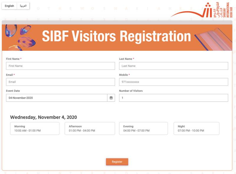 SIBF 2020 opens public registrations to visit fair, attend cultural programme virtually and buy books