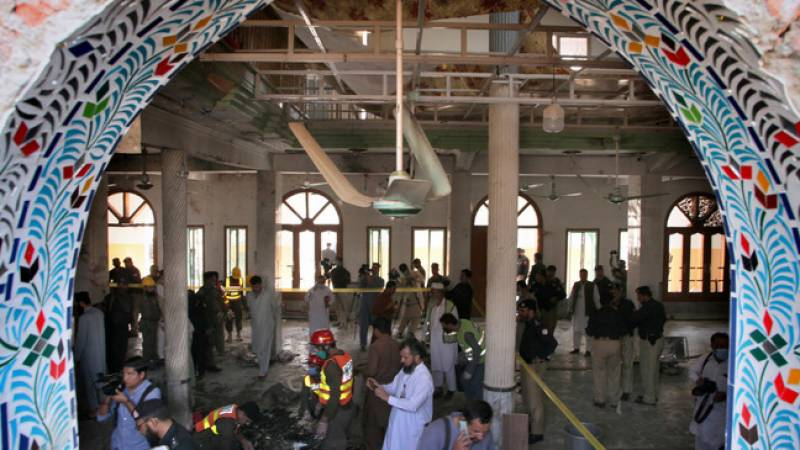 At least 8 dead, over 100 injured in Peshawar's madrassa blast