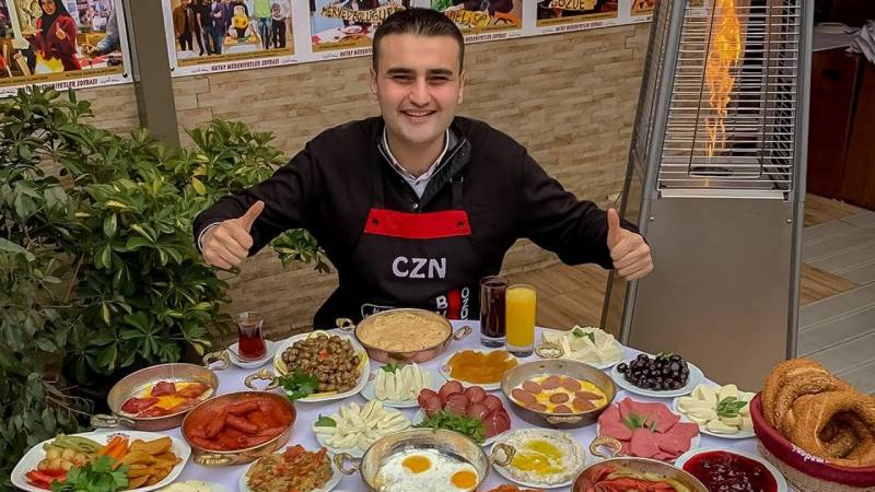 Famous Turkish chef Burak Ozdemir is visiting Pakistan this month