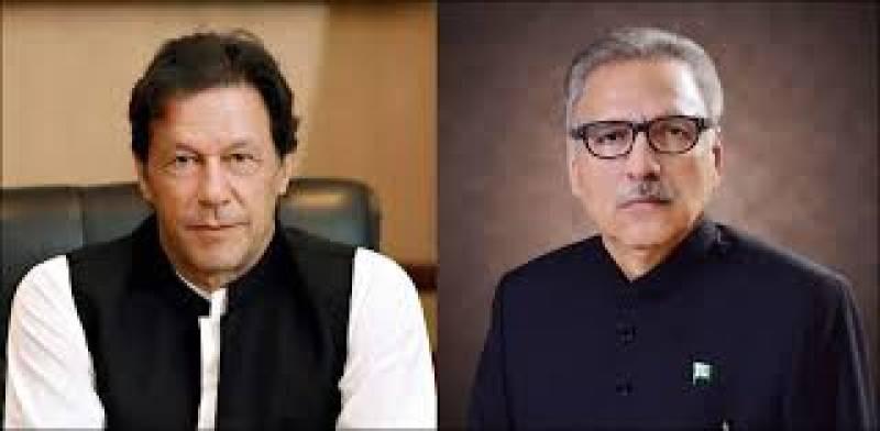 President Alvi, PM Imran reaffirm Pakistan's unwavering support to Kashmiris