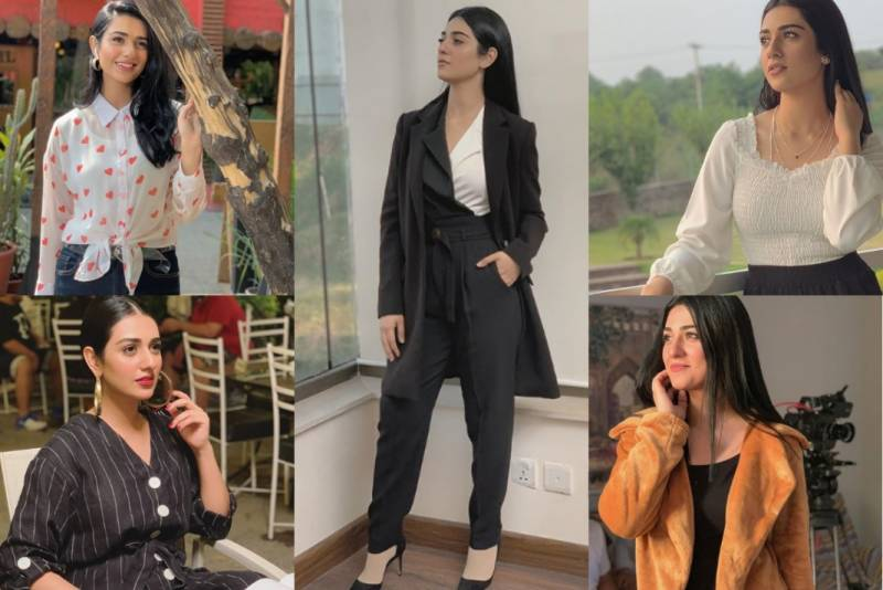 Sarah Khan's best fashion moments in 'Sabaat'