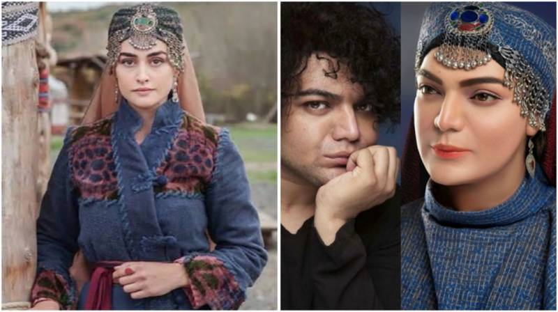 Celebrity makeup artist Shoaib Khan recreates Halime Sultan's look
