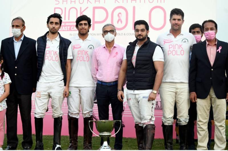 Master Paint/FG Polo win Shaukat Khanum Pink Polo Cup